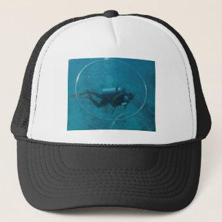 Hawaii scuba diver trucker hat