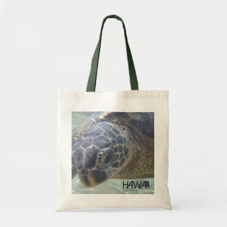Hawaii sea turtle souvenir reusable bag