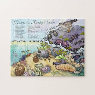 Hawaii Shoreline Identification Jigsaw Puzzle