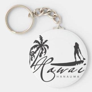 Hawaii Stand Up Paddle Key Ring