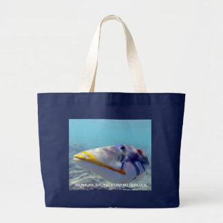 Hawaii State Fish - Humuhumunukunukuapua'a Large Tote Bag