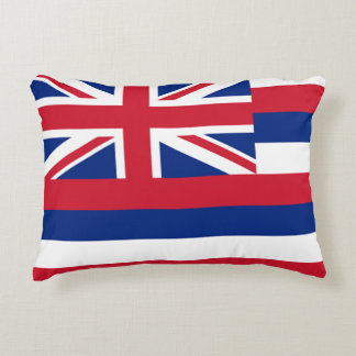 Hawaii State Flag Accent Cushion