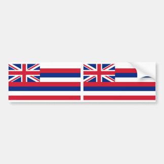Hawaii State flag Bumper Sticker