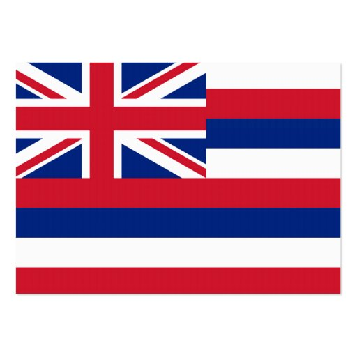 Hawaii State Flag Business Card Templates