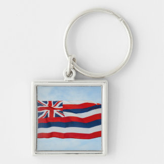 Hawaii State Flag Key Ring