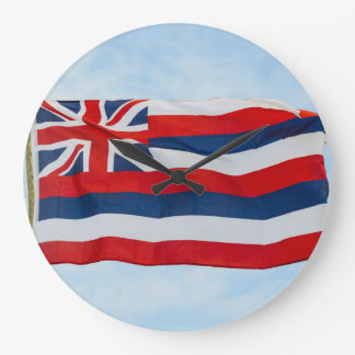 Hawaii State Flag Large Clock