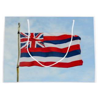 Hawaii State Flag Large Gift Bag