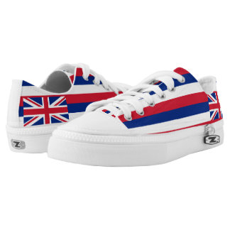 Hawaii State Flag Low Tops