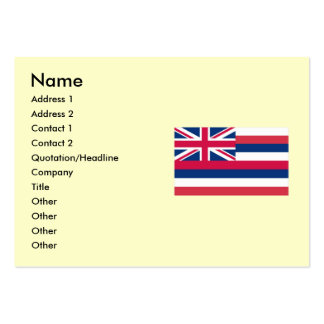 Hawaii State Flag Pack Of Chubby Business Cards