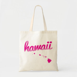 Hawaii state in pink