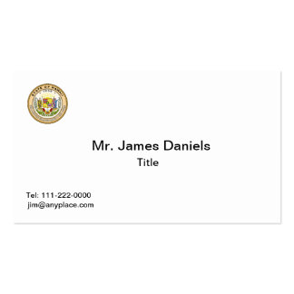 Hawaii State Seal Business Card Templates
