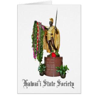 Hawai'i State Society Card