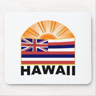 Hawaii Sunburst Mouse Pad