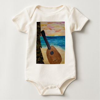 hawaii sunset baby bodysuit