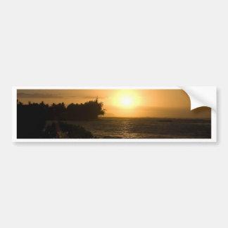 Hawaii Sunset Bumper Sticker