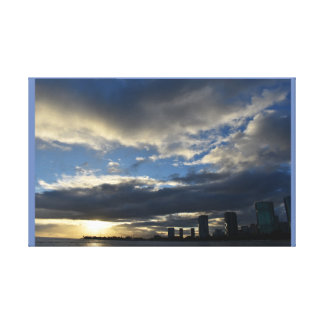 Hawaii Sunset Canvas Print