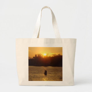 Hawaii Sunset Large Tote Bag
