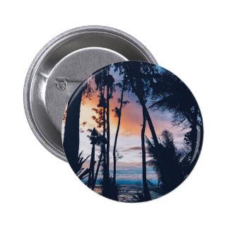 Hawaii Sunset Paradise 6 Cm Round Badge