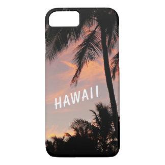 Hawaii sunset phone case