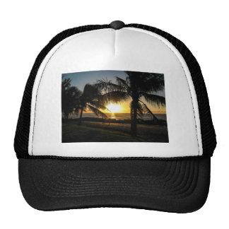 Hawaii Sunset Sharks Cove Trucker Hat