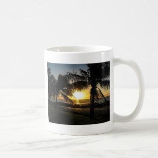 Hawaii Sunset Sharks Cove Mugs