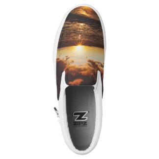hawaii sunset Slip-On shoes