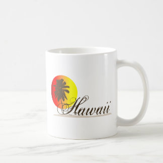 Hawaii Sunset Souvenir Coffee Mug