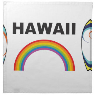 hawaii surf boards napkin