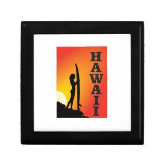 Hawaii surf girl gift box