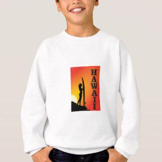Hawaii surf girl sweatshirt