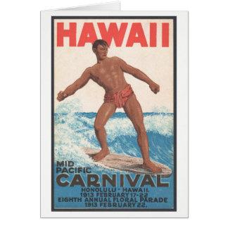 Hawaii Surfer Card