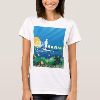 Hawaii Surfing 142 T-Shirt