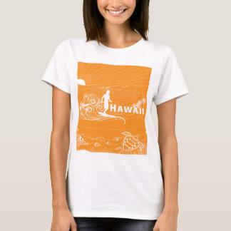Hawaii Surfing 227 T-Shirt
