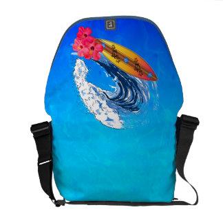 Hawaii Surfing Messenger Bag