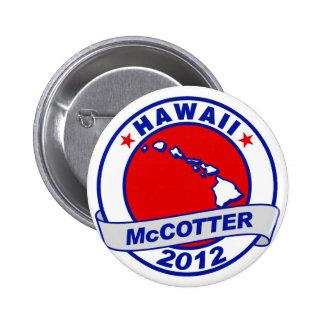 Hawaii Thad McCotter Pin