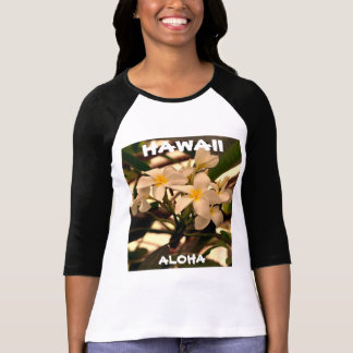 Hawaii The Aloha State (Pumeria) T-Shirt