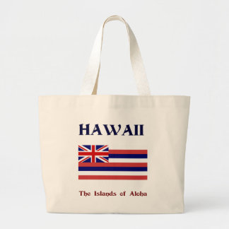 Hawaii, The Islands of Aloha Large Tote Bag