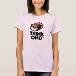 Hawaii Think Ono Spam Musubi T-Shirt