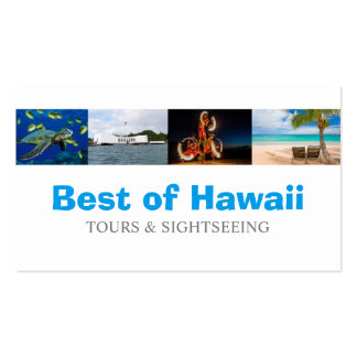 Hawaii Tourist Coordinator Travel Agent Pack Of Standard Business Cards