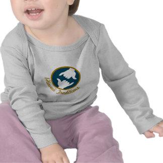 Hawaii Traditions Logo Infant Long Sleeve T Shirts