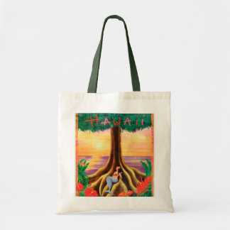 Hawaii travel tote bag
