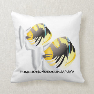 Hawaii Trigger Fish Pillow