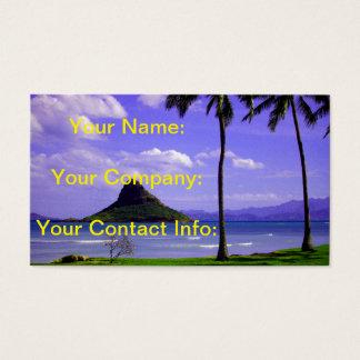 Hawaii Tropic Business Card