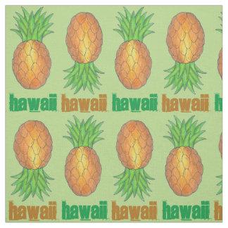 Hawaii Tropical Hawaiian Pineapple Hawaiian Island Fabric