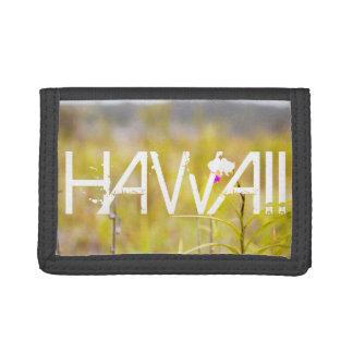 Hawaii Tropical Orchid Mt. Kilauea Tri-fold Wallet