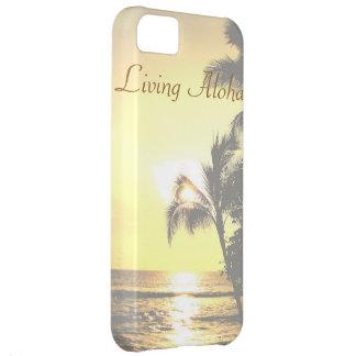 Hawaii Tropical Scene Living Aloha iPhone 5C Case