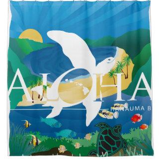 Hawaii Turtle and Ocean 11 Shower Curtain