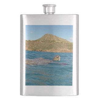 Hawaii Turtle Flask