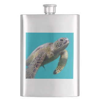 Hawaii Turtle Hip Flask