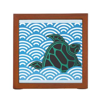Hawaii Turtle Islands Desk Organiser